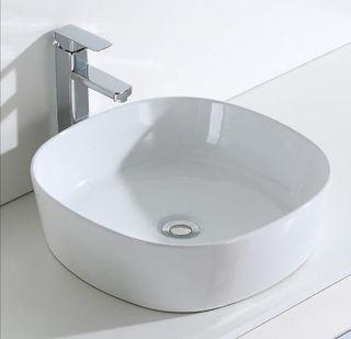 lavabo sobre encimera a estrenar