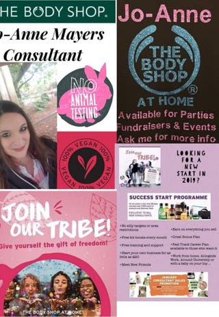 The Bodyshop at Home- Recruitment
