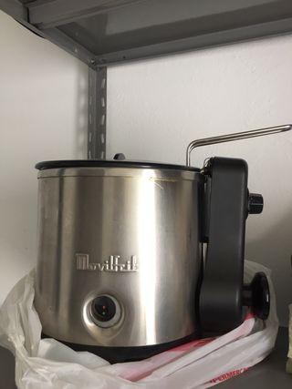 Freidora de agua y aceite movilfrit