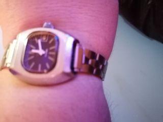reloj de pulsera de mujer de cuerda Vintage