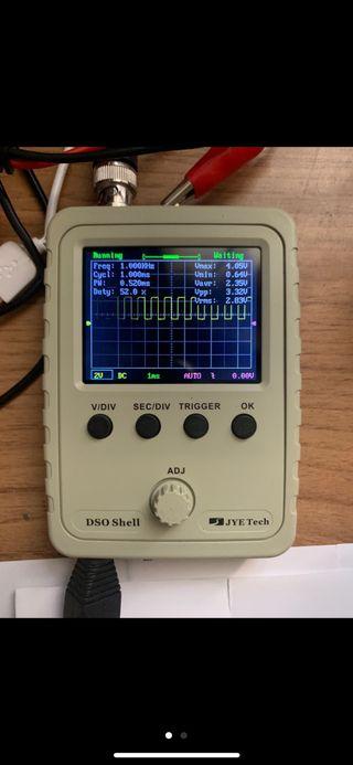 osciloscopios dso150 totalment nuevo y original