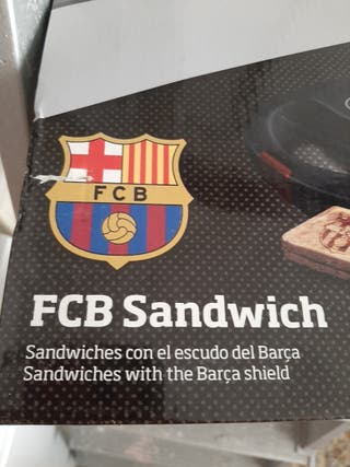 sandwichera marca taurus escudo barcelona