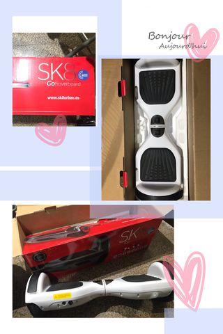 Sk8 go hoverboard blanco