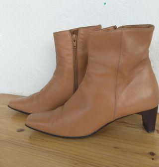 botas mujer de piel