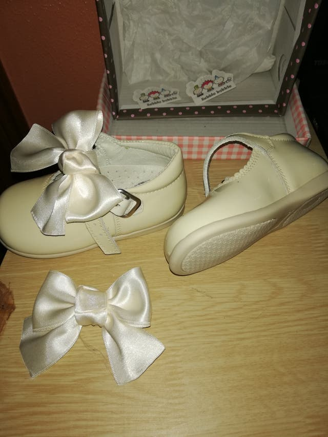 zapato niña beig..tienda