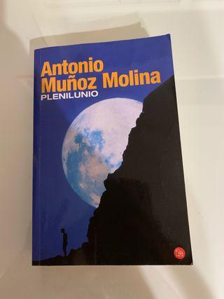 """LIBRO: """"PLENILUNIO""""DE ANTONIO MUÑOZ MOLINA"""