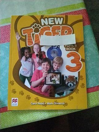 Libro de inglés de 3° de primaria