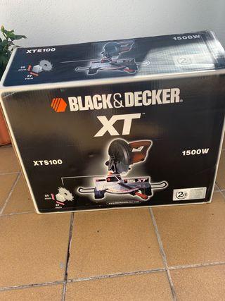 Ingletadora Black and Decker nueva