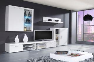 Mueble de salón Gamma Blanco tv