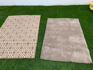 Preciosas alfombras la gris de pelo largo