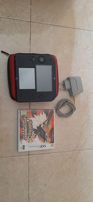 Nintendo 2ds (negra y azul)