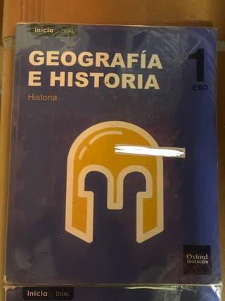 libro geografía e historia 1ESO