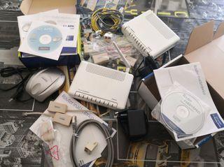 Routers (o cambio por antena WiFi USB)
