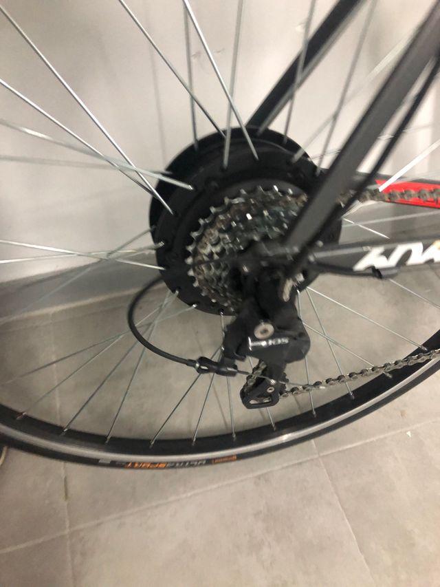 Bicicleta de carretera eléctrica talla L