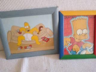 cuadros de los Simpsons