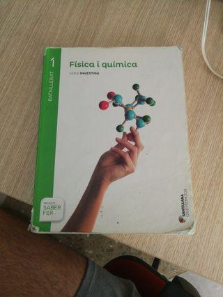libro física y química primero bachiller