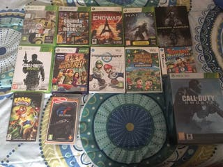 Lote de videojuegos Wii, 360,Psp,Ds