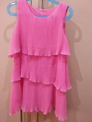 Vestido rosa palo ZARA KIDS Talla 7-8 años