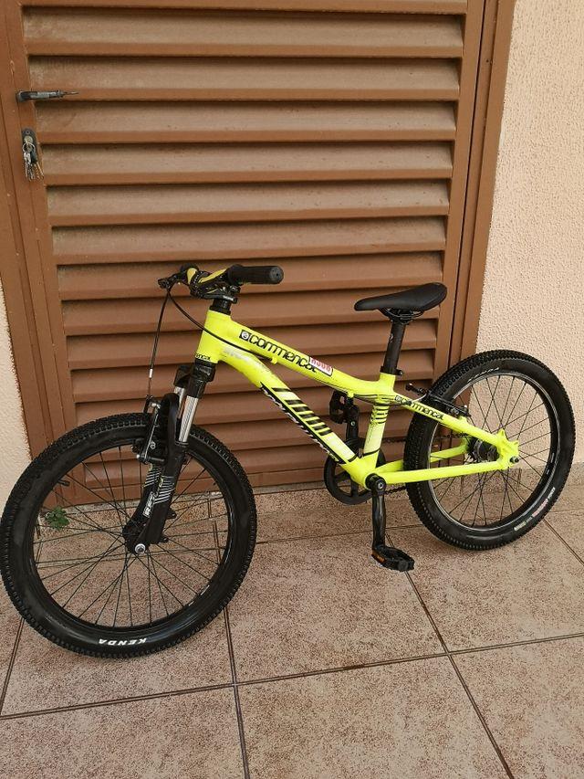"Bici infantil Commencal Ramones 20"""