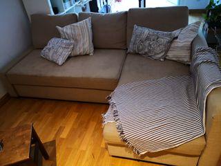 Sofá Ikea Friheten Beige