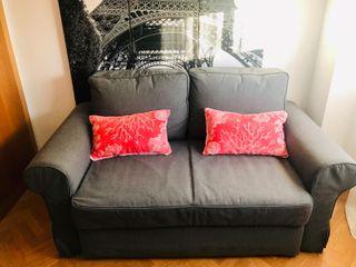 Sofa cama + butaca vintage