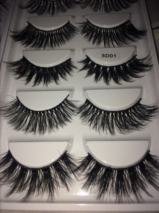 Eyelashes TEN BOXES ! Set of five eyelashes each