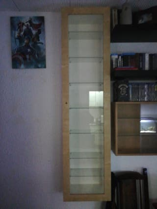 3 vitrinas de pared ikea