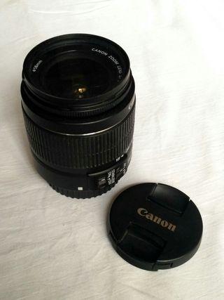 Objetivo Canon EF-S 18-55 IS II