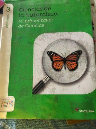 Libro de ciencias naturales de tercero de primaria
