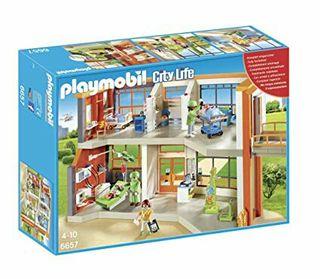 playmobil 6657 hospital infantil nuevo