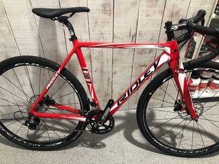Bicicleta Gravel-cyclocross carbono
