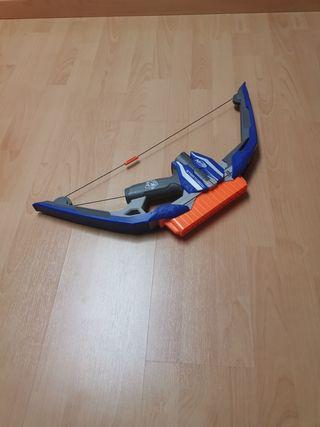 arco de juguete marca nerf