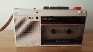 Walkman Grabador Vintage Philips