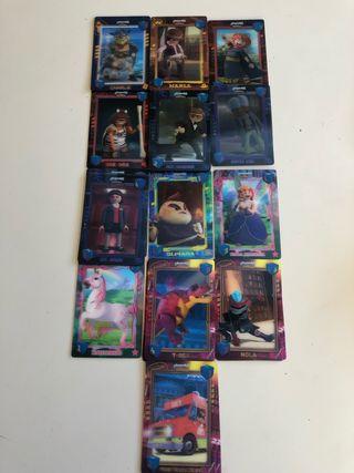 Cromos Playmobil la película