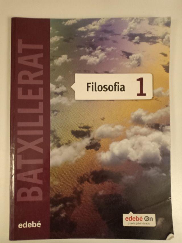 Libro filosofía 1r bachillerato