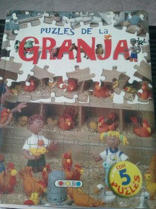 Libro de puzzles de la granja