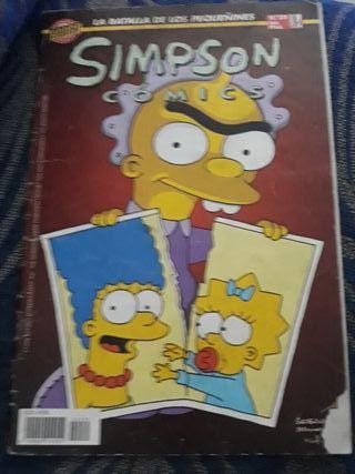 Comic de Los Simpson 1997