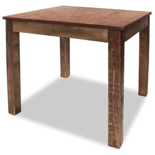vidaXL Mesa de comedor de madera maciza 244495
