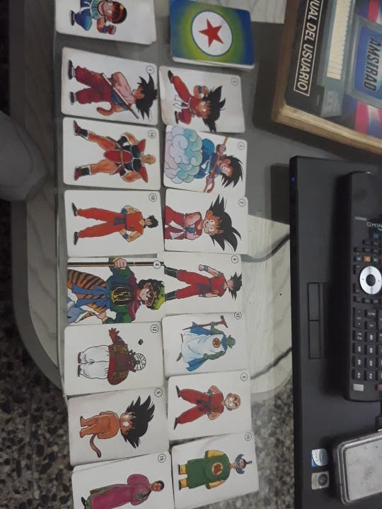 Cartas de Dragon Ball de 1989