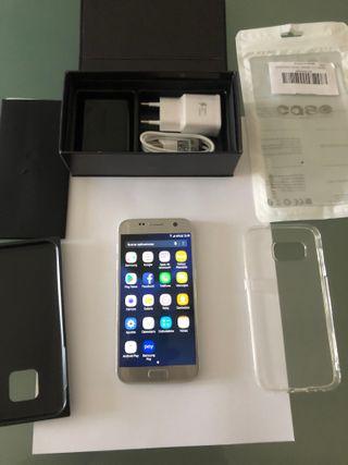 Samsung Galaxy S7 LIBRE modelo SM-G930F Plata