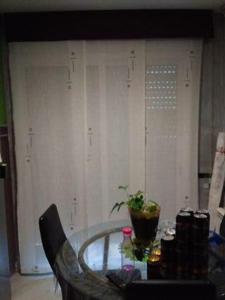 cortinas paneles japoneses