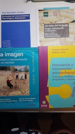 Libros pedagogia UNED