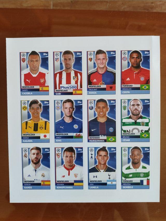 Topps - UEFA Champions League - Álbum cromos