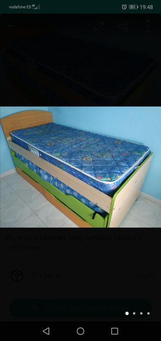 cama nido de 90