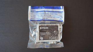 Cartucho tinta negra Epson T0481