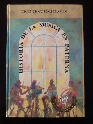 """Libro """"Historia de la musica en Paterna"""""""