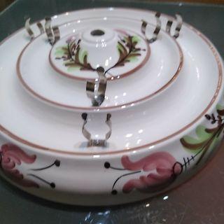 Lampara cerámica cocina vintage años 70/80