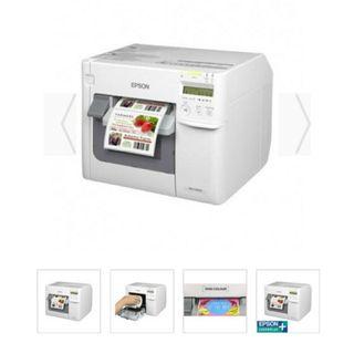 Epson impresora de etiquetas profesional.
