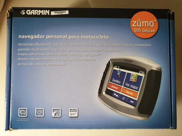 GPS Garmin Zumo 500/550