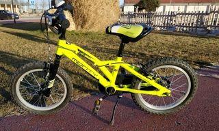 """bicicleta Monty 16"""" niño"""